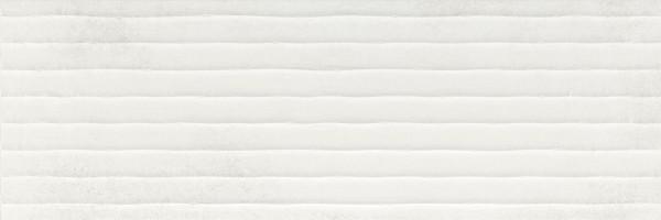 Dekorfliese Baldocer Tesla Code white 40 x 120 cm