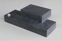 Blockstufe Blaustein grau-anthrazit geschliffen 35 x 100 cm
