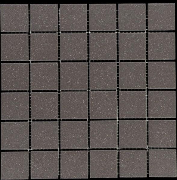 Mosaikfliese Color Dot anthrazit 30 x 30 cm