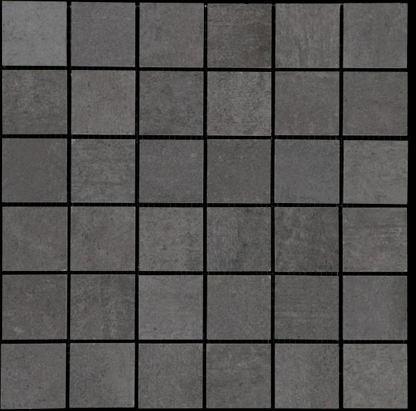 Mosaikfliese Bitumen anthrazit 30 x 30 cm