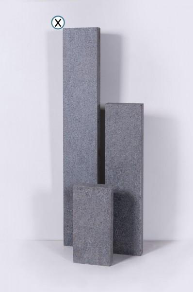 Bordstein North grey grau 24 x 150 cm