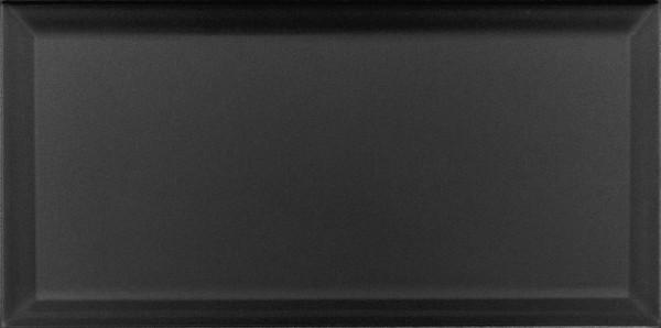 Wandfliese Collexion Metrotiles schwarz 10 x 20 cm