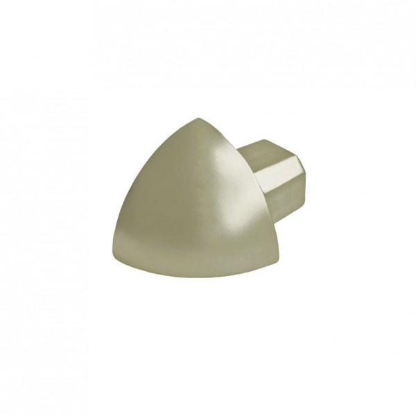 Eckstück Dural 10 mm Alu eloxiert Titan DRAE 100-T-Y