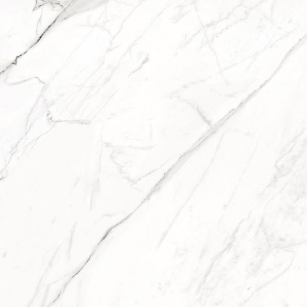 Bodenfliese Enmon Calacata weiß 60 x 60 cm