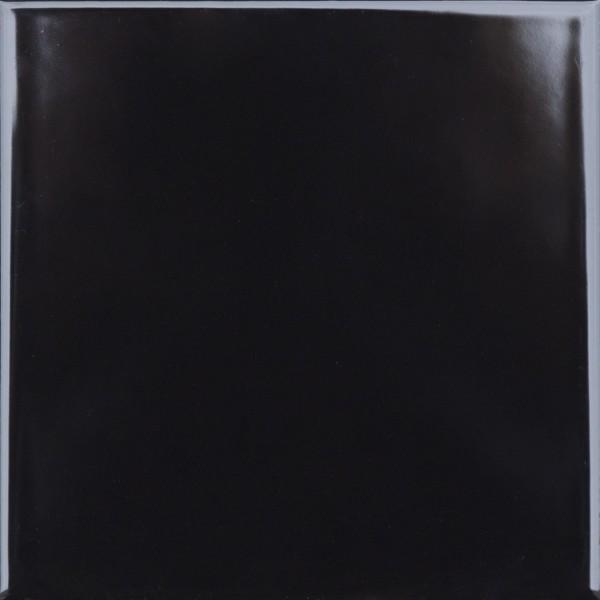 Wandfliese JNA01 1515 schwarz 14,8 x 14,8 cm