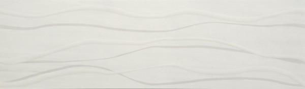 Dekorfliese Grohn Symphonie grau 15 x 50 cm