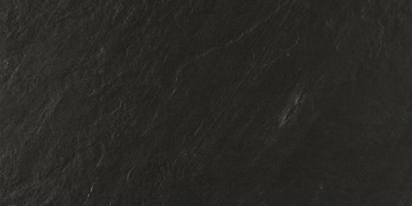 Bodenfliese Marazzi Mystone lavagna nero 30 x 60 cm