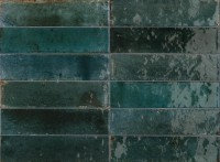 Wandfliese Marazzi Lume blue 6 x 24 cm