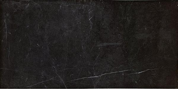 Bodenfliese Marazzi Evolutionmarble nero marquina lux 29 x 58 cm