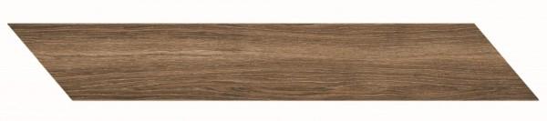 Bodenfliese Marazzi Treverkmust Chevron brown 11,8 x 73,2 cm