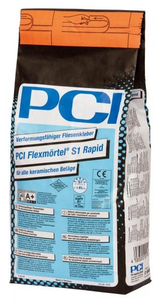 Fliesenkleber PCI Flexmörtel S1 Rapid 5 kg