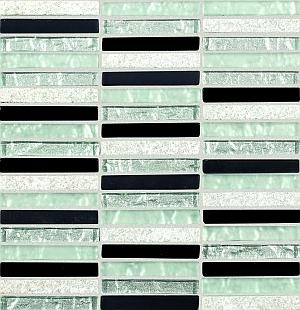 Mosaikfliese Collexion Zebra contrast 30 x 30,6 cm