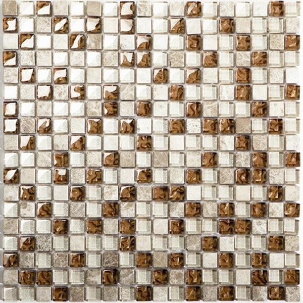 Mosaikfliese Oro beige mix 30 x 30 cm