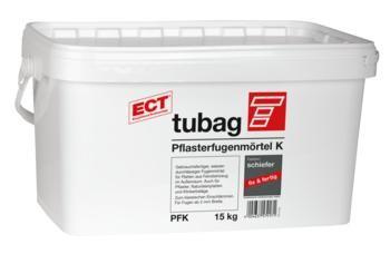 Pflasterfugenmörtel Tubag PFK schiefer 15 kg
