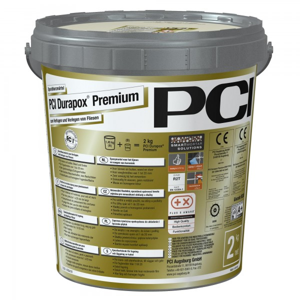 Fugenmörtel PCI Durapox Premium zementgrau 2 kg