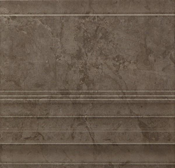Bordürenfliese Marazzi Marbleline grafite 22 x 21 cm