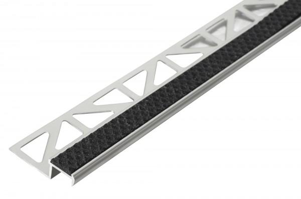 Treppenkantenprofil Dural 11 mm nachtschwarz DISTAE 11106 250 cm