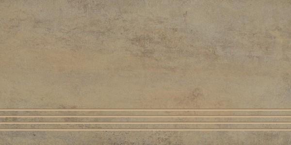 Stufenfliese Grohn Iron rostbeige 30 x 60 cm