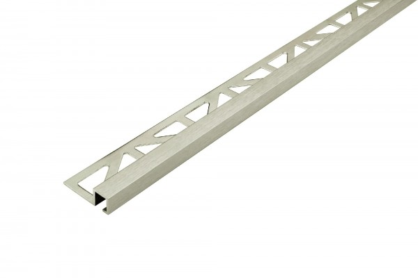 Quadratprofil Dural 11 mm Alu Titan Feinschliff DPSA1163-T-S 250 cm