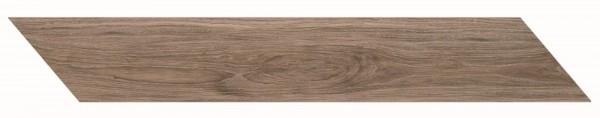 Bodenfliese Marazzi Treverkmust Selection Chevron brown 11,8 x 73,2 cm