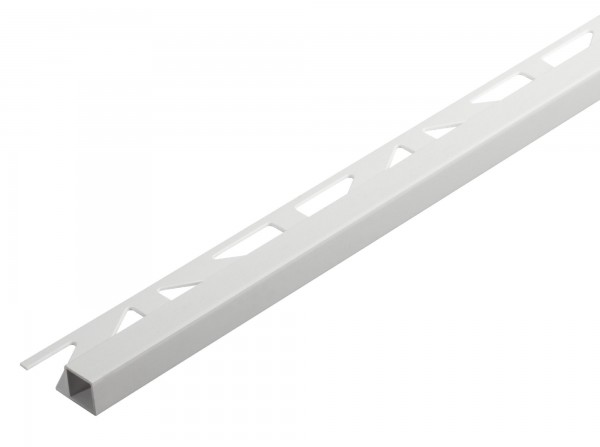 Quadratprofil Dural 11 mm PVC weiß DPSP 1130 250 cm