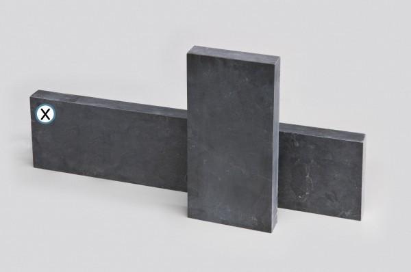Bordstein Blaustein anthrazit 24 x 100 cm