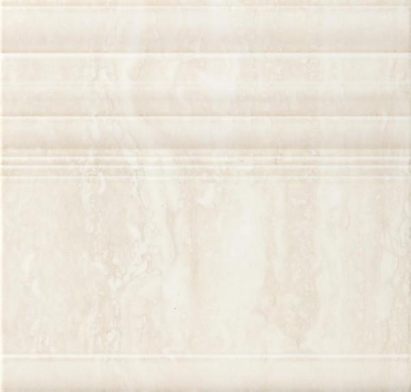 Bordürenfliese Marazzi Marbleline travertino 22 x 21 cm
