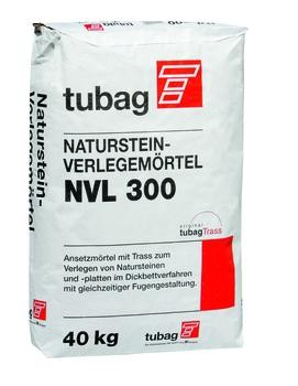 Fliesenkleber Tubag Natursteinmörtel grau 40 kg