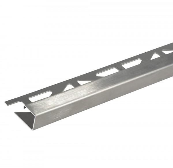 Quadratprofil Dural 11 mm Edelstahl Feinschliff LAC 1172 250 cm