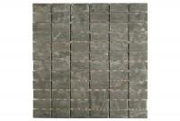 Mosaikfliese Kesme black 29,5 x 29,5 cm