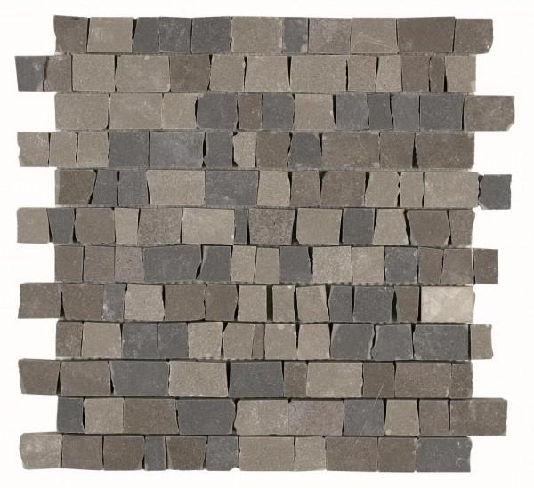 Mosaikfliese Marazzi Material Mix light/dar/blue grey 30 x 30 cm
