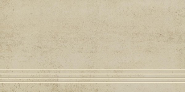 Stufenfliese Grohn Iron hellbeige 30 x 60 cm
