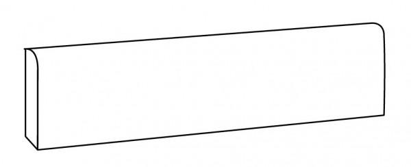 Sockelfliese Ascot Patchwalk grigio 9 x 60 cm