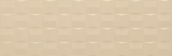 Wandfliese Marazzi Pottery champagne cube 3D 25 x 76 cm