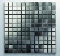 Mosaikfliese Iron gebürstet 30 x 30 cm