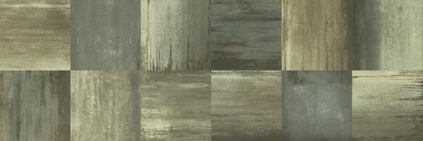 Wandfliese Villeroy & Boch Urban Jungle green mix 39,7 x 119,7 cm