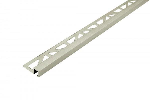 Quadratprofil Dural 9 mm Alu Titan Feinschliff DPSA 963-T-SF 250 cm