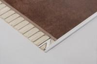 Winkelprofil Dural 8 mm Alu natur DSAE80 250 cm