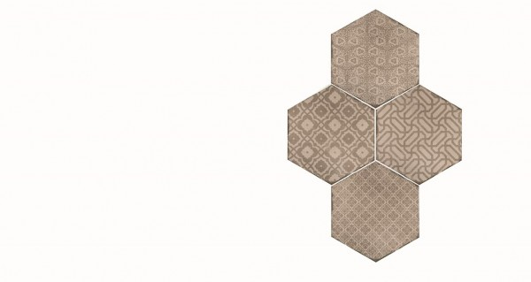 Bodenfliese Marazzi Powder Déco caldo 18,2 x 21 cm