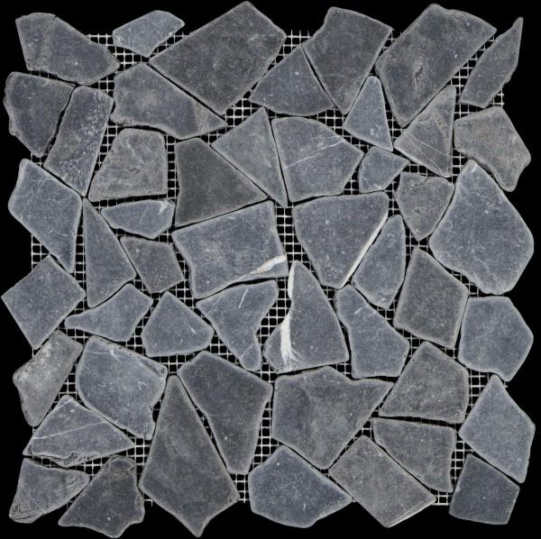 Mosaikfliese Max 915 Nero Marquina 30,5 x 30,5 cm