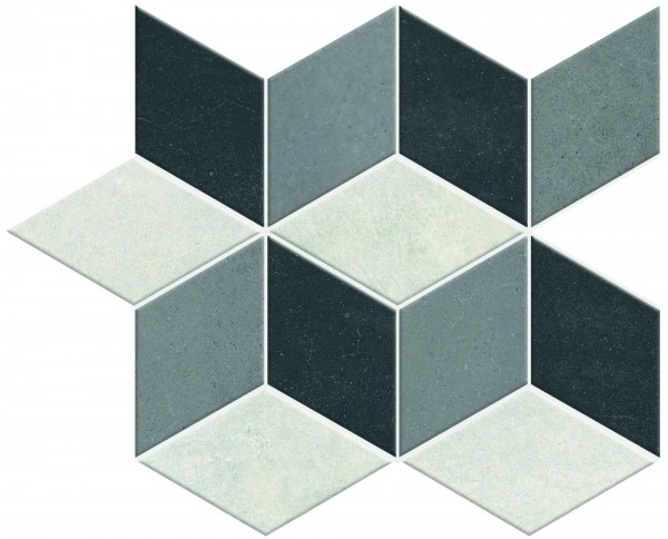 Mosaikfliese Marazzi Denver Hidro grey 30 x 30 cm