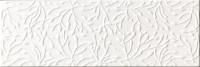 Wandfliese Ascot Muster Lumen white glamour 25 x 75 cm