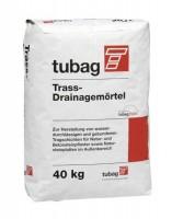Pflasterfugenmörtel Tubag Trass-Drainagemörtel TDM 40 kg