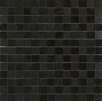 Mosaikfliese Marazzi Evolutionmarble nero marquina 29 x 29 cm