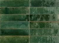 Wandfliese Marazzi Lume green 6 x 24 cm
