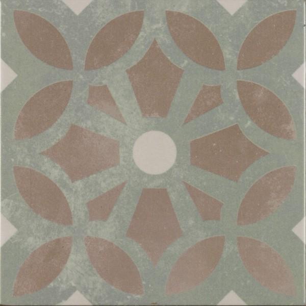 Bodenfliese Pamesa Arte Cezzane grau-grün 22,3 x 22,3 cm