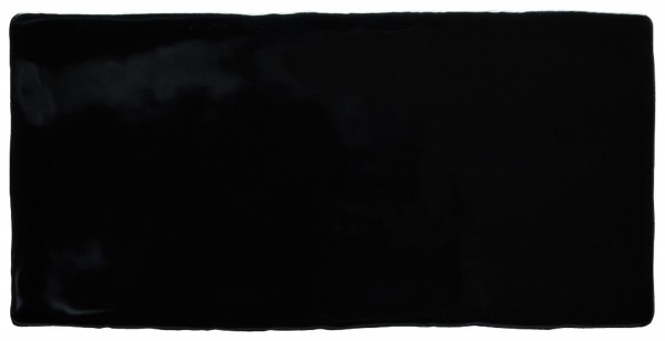 Wandfliese Epoque noir 7,5 x 15 cm