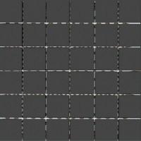 Mosaikfliese Uni Black 30 x 30 cm