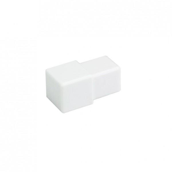 Eckstück Dural 11 mm PVC weiß DPSP 1130-Y