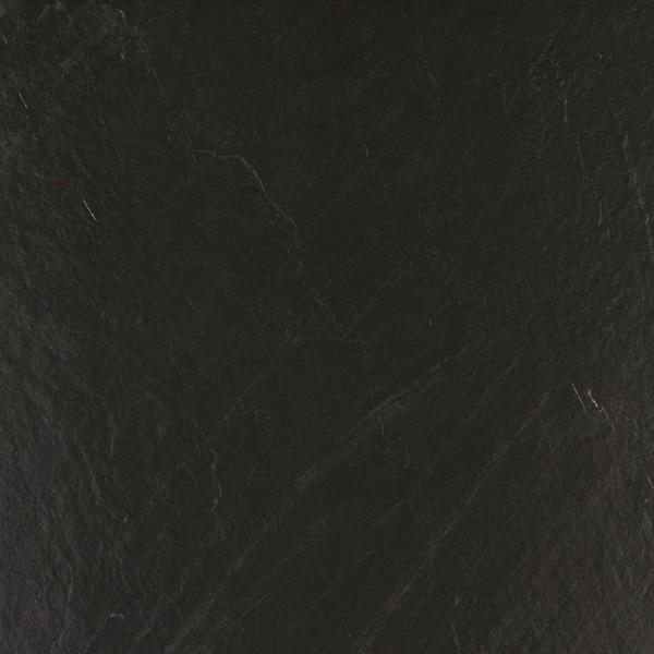 Bodenfliese Marazzi Mystone lavagna nero 75 x 75 cm